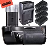 Big Mike's Battery Grip Kit for Sony Alpha SLT-A77, Alpha a77II DSLR Camera -Includes Qty 4 Replacement NP-FM500H Batteries + Battery Charger + Vertical Battery Grip + More!!