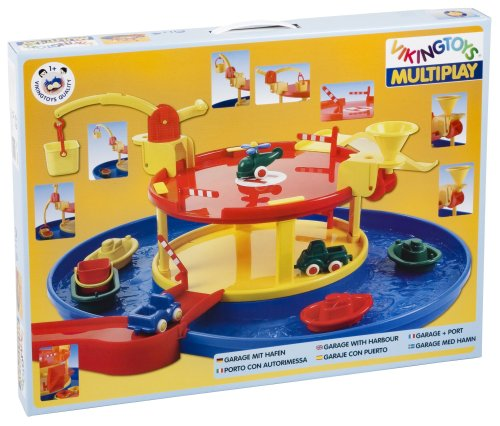 Viking Toys - Multiplay Garage With Harbour
