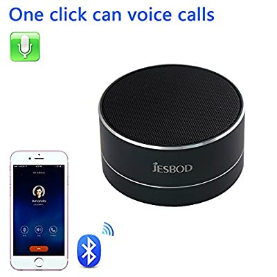 Bluetooth Speaker,MINI Desk Office Wireless Powerful Sound Portable Speaker with Radio function,USB and TF card port,Works for Ipad,Iphone,Samsung,Huawei and Other Music Players