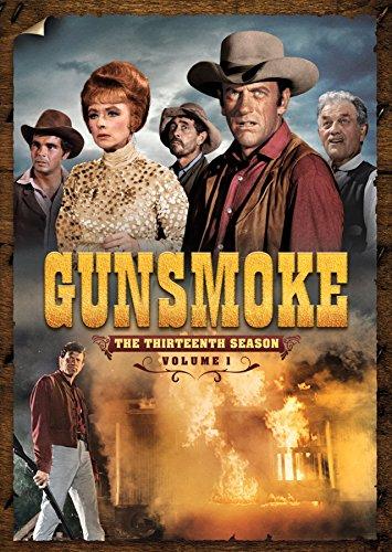 DVD : Gunsmoke: The Thirteenth Season Volume 1 (Full Frame, Boxed Set, Mono Sound, 4PC)