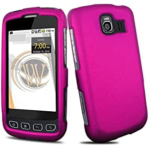 Cover Case for LG Optimus S LS670 - Rubberized Pink