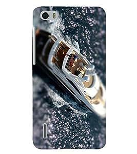 PRINTSHOPPII BOAT SEA Back Case Cover for Huawei Honor 6