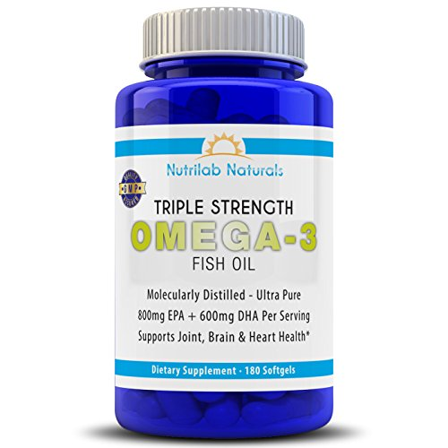 Triple strength fish oil pharmaceutical grade pills 180 for Fish oil pills for buttocks review