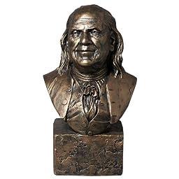 Ben Franklin 7 Inch Bust