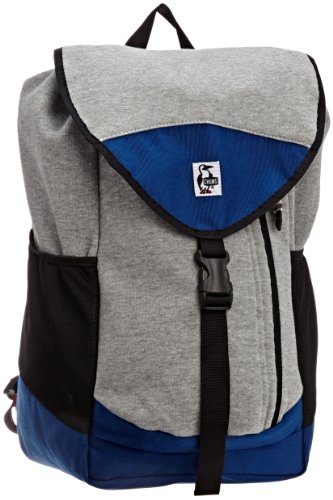 [チャムス] CHUMS Book Pack Sweat Nylon CH60-0680 H-Grey/Navy (ヘザーグレーネイビー)