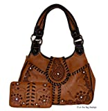 Concealed Carry Purse - Montana West - Rhinestones with Matching Wallet - Gun Purse - Hot Seller!