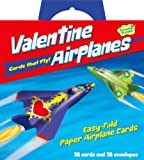 Peaceable Kingdom / Flying Paper Airplanes Super Valentine Card Pack
