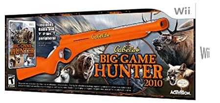 Cabela's Big Game Hunter 2010 with Gun Bundle