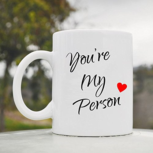 You'Re My Person Love Romance Wife Husband Spouse Cute Funny 11Oz Ceramic Coffee Mug Cup