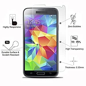 Generic 2.5D Curved Edge Crystal Clear, 9H Hardness Tempered Glass Screen Protector For Samsung Galaxy Grand I9082