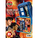 Airfix A50006 1:12 Scale Doctor Who Welcome Aboard Gift Set with Paints, Glue and Brushes