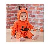 (ワイボーイジャパン)Wiboyjp  ベビー  キッズ  ハロウィン コスプレ 仮装 かぼちゃ 子供 ロンパース 女の子 男の子 コスチューム 衣装