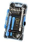 Geeks N Gear Cell Phone Repair Tool Kit - 17-piece Premium Universal Screwdriver Computer, iPhone and Samsung Repair Tools Set