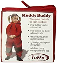 Tuffo Muddy Buddy Coveralls, Red, 36…