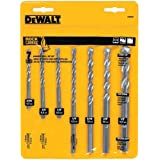 DEWALT DW5207 7-Piece Premium Percussion Masonry Drill Bit Set