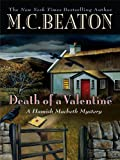 Death of a Valentine (Wheeler Hardcover) M. C. Beaton