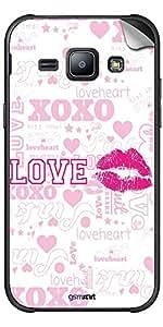 GsmKart GLXJ1 Mobile Skin for Samsung Galaxy J1 (Pink, Galaxy J1-328)