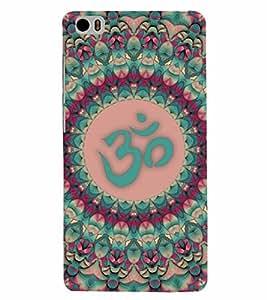 PrintVisa Religious & Spiritual OM 3D Hard Polycarbonate Designer Back Case Cover for Xiaomi Redmi Mi5