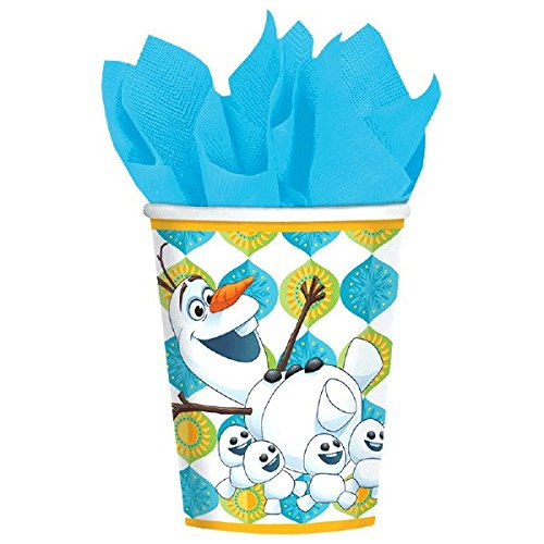 American Greetings Frozen Fever 9 oz. Paper Cups Party Supplies (8 Count)