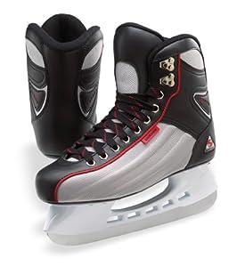 Jackson Softec Comet Ice Skates - ST2602 Mens Hockey Ice Skates Black by Jackson