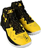 Stephen Curry Golden State Warriors Autographed Curry 2 Black and Yellow Shoes - Fanatics Authentic Certified