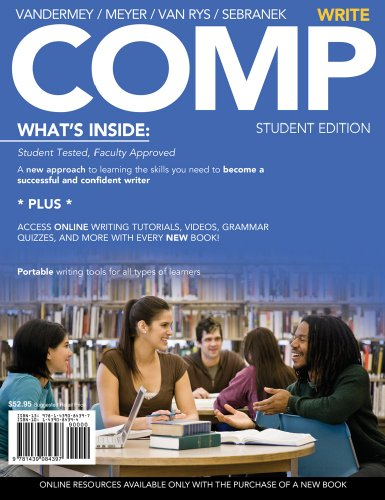 COMP: Write (with English CourseMate with eBook Printed Access Card)