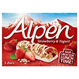 Alpen Strawberry Yoghurt Bars 6x5x29g