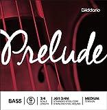 D'Addario ダダリオ ウッドベース(コントラバス)弦 J611 3/4M Prelude Bass Strings / G-stainless steel 【国内正規品】