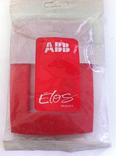 placca-a-3-posti-abb-elos-colore-rosso-abb
