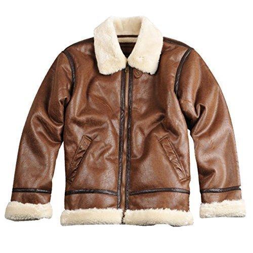 Alpha Ind. Jacke B3 FL- brown günstig online kaufen