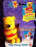 Hug Along Pooh 4 Clip on Baby Rattle