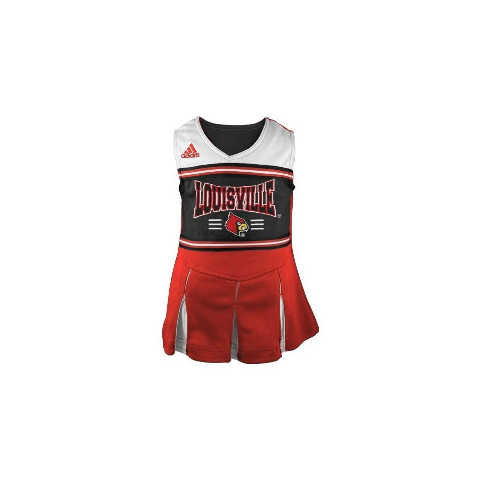adidas Louisville Cardinals Red Youth Two Piece Cheerleader Dress