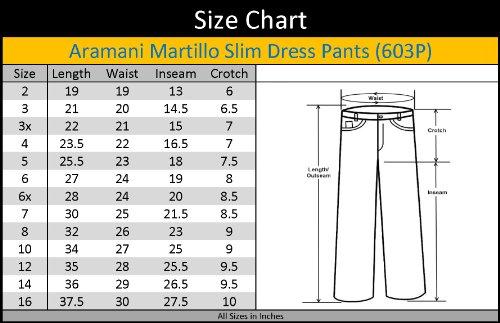 Size Chart Pants Women