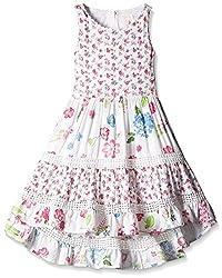 Pumpkin Patch Girls' Dress (S5GL80013_Orchid Pink_5)