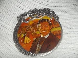 Rhett Butler Painted Glass Sun Catcher