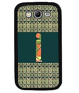 PrintVisa Metal Printed Alphabet Designer Back Case Cover for Samsung Galaxy Grand I9080-D4813