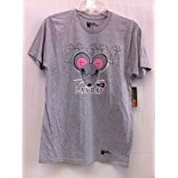 Grey Short Sleeve 100% Cotton Lax Rat tee shirt Lax Adult Large L