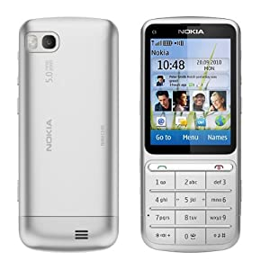 Nokia C3-01.5 silver