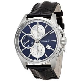 [ハミルトン]HAMILTON 腕時計 Jazzmaster Auto Chrono(ジャズマスター オート クロノ) ブルーダイヤル H32596741 メンズ 【正規輸入品】