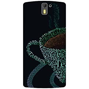 Oneplus One A0001 Back Cover - Coffee Designer Cases