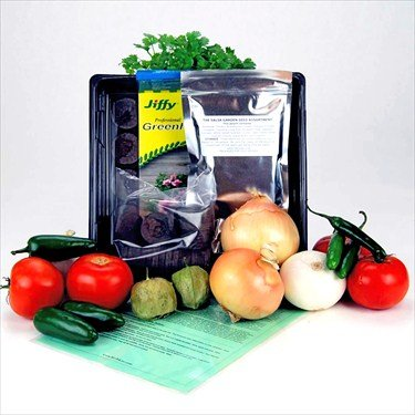 Mexican Salsa Garden Starter Kit - Grow Onions, Tomatos, Peppers, More
