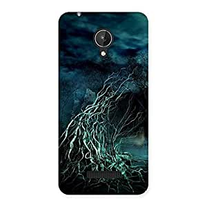 Tree Horror Back Case Cover for Micromax Canvas Spark Q380