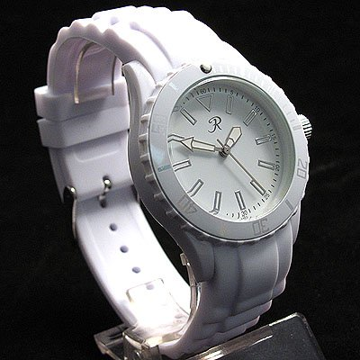 Reflex SR006 Ladies / Unisex White Silicon Sports Watch