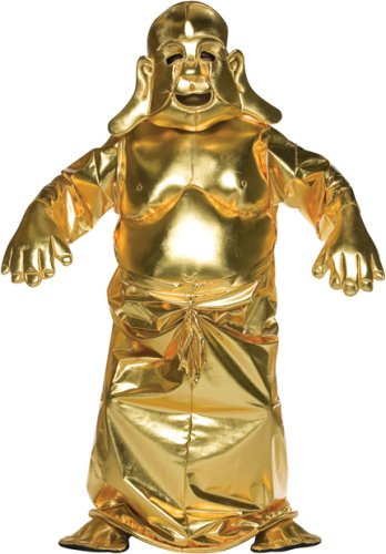 Adult Men's Golden Buddha Halloween Costume