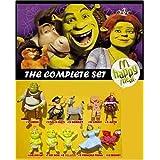 Shrek 3 (the Third) Mcdonalds Happy Meal Toys Figure Set of 10 ~ Shrek