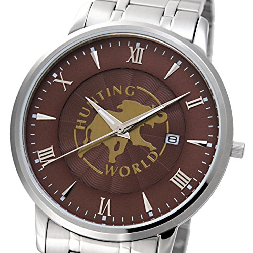 (ハンティングワールド) HUNTING WORLD メンズ 腕時計キャバリエ ブラウン HW018MBR 【並行輸入品】