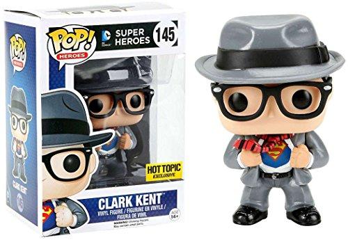 Funko DC Funko POP! Heroes Clark Kent Exclusive Vinyl Figure #145 (Superman Clark Kent Action Figure compare prices)