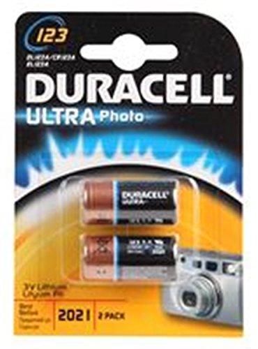 Duracell ULTRA Pile au LITHIUM 123 2-7035773 Duracell Lot de 3