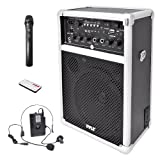 Pyle PWMA170 Dual Channel 400 Watt Wireless PA System with...