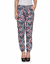 Kiosha Cotton Multi Regular Fit Trousers for Women KTVDA464_MULTI